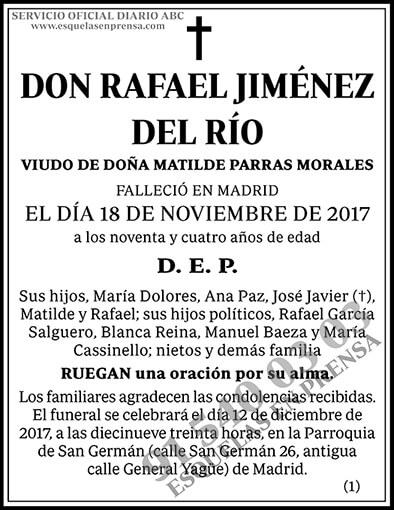 Rafael Jiménez del Río